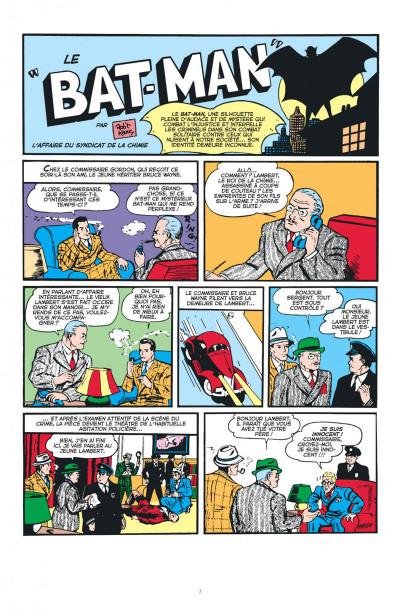 Page 7 Batman anthologie