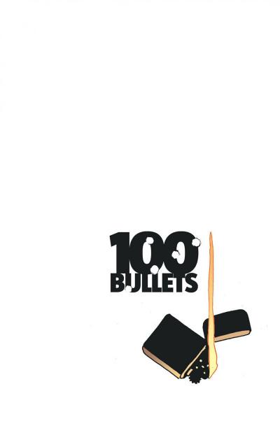 Page 1 100 bullets - cartonné tome 15