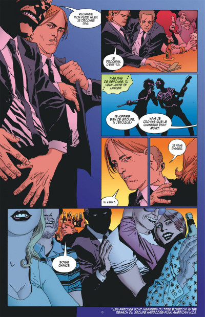Page 8 100 bullets - cartonné tome 15