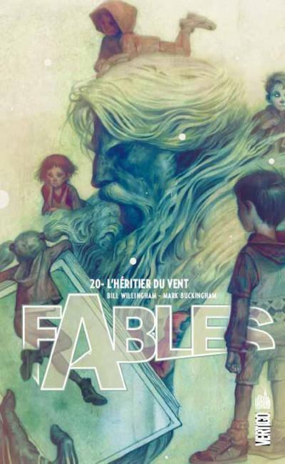 Couverture fables tome 20 - l'héritier du vent (souple)