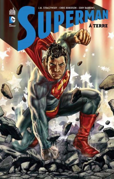 Couverture Superman à terre