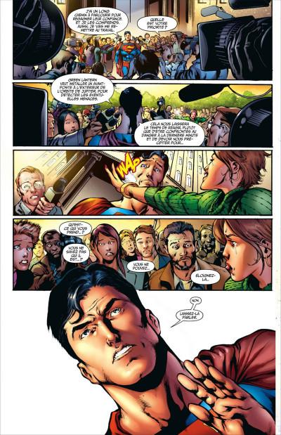 Page 8 Superman à terre