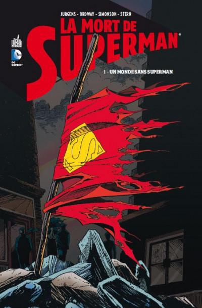 Couverture la mort de Superman tome 1 - un monde sans Superman