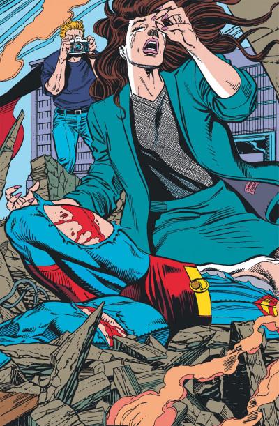 Page 2 la mort de Superman tome 1 - un monde sans Superman