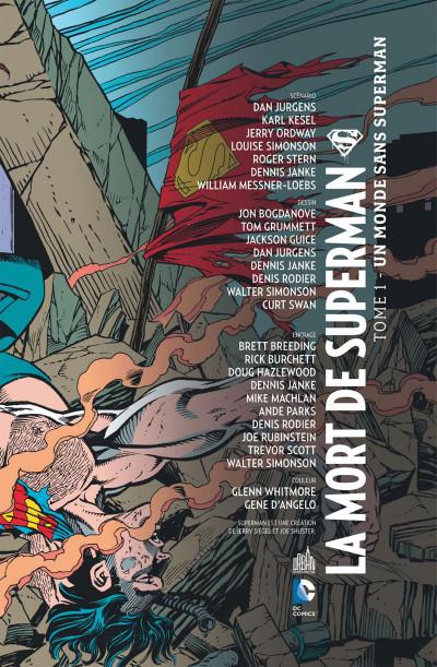 Page 3 la mort de Superman tome 1 - un monde sans Superman