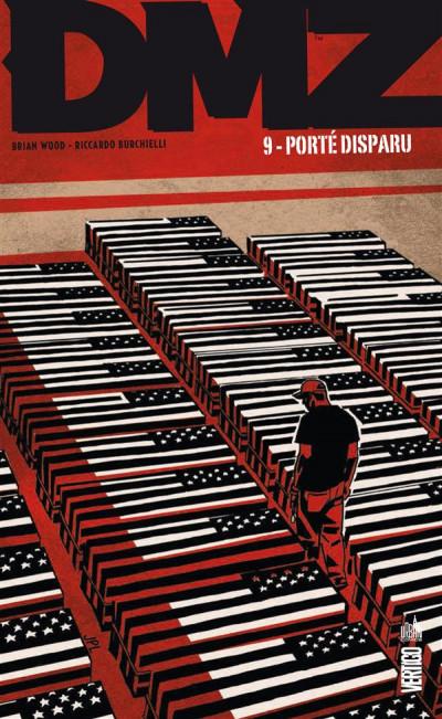 Couverture DMZ tome 9 - porté disparu (cartonné)