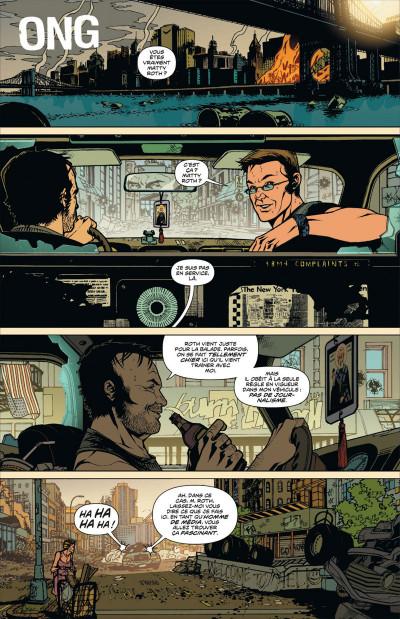 Page 6 DMZ tome 9 - porté disparu (cartonné)