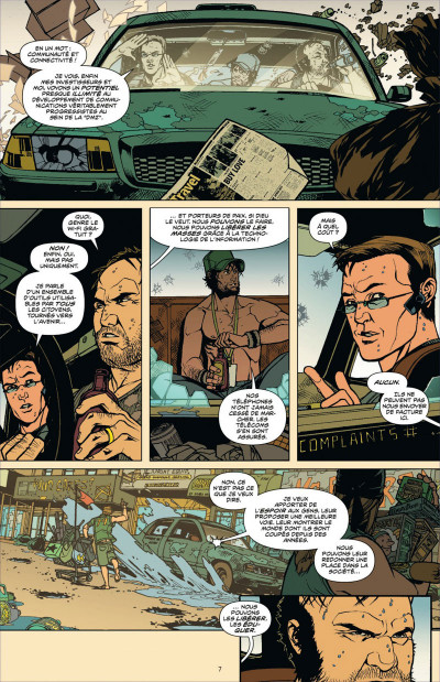 Page 7 DMZ tome 9 - porté disparu (cartonné)