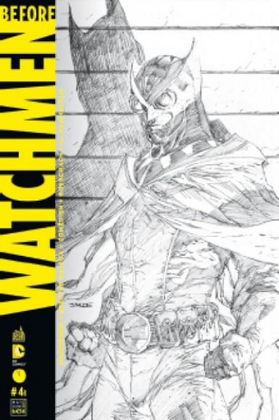 Couverture before Watchmen N.4