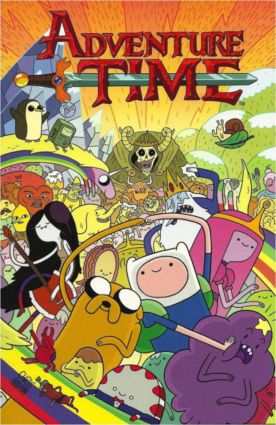 Couverture Adventure time tome 1