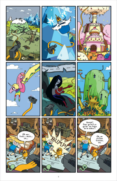 Page 7 Adventure time tome 1