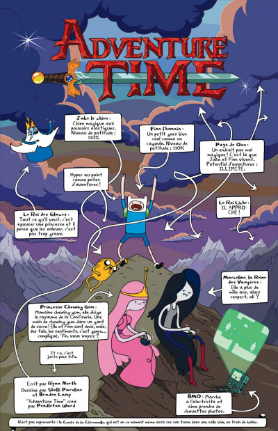 Page 8 Adventure time tome 1