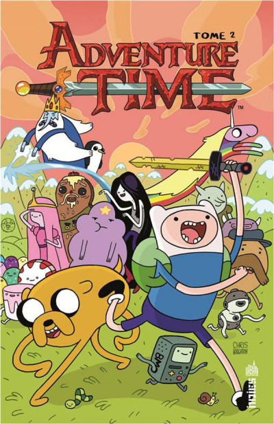 Couverture Adventure time tome 2