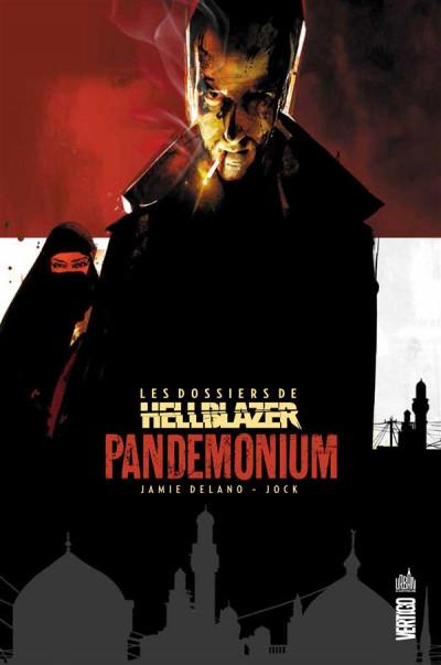 Couverture Les dossiers de Hellblazer tome 2 - pandemonium