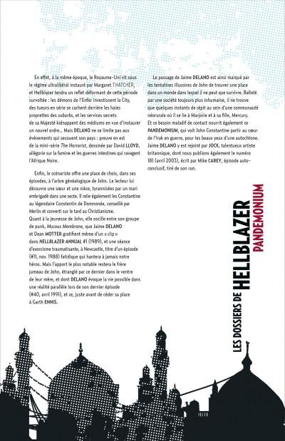 Page 5 Les dossiers de Hellblazer tome 2 - pandemonium