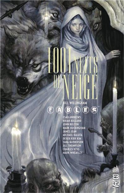 Couverture Fables - 1001 nuits de neige (souple)