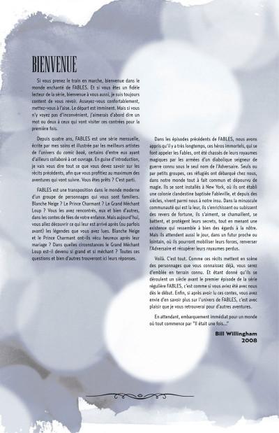 Page 4 Fables - 1001 nuits de neige (souple)