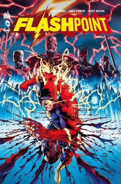 Couverture Flashpoint + Blu-Ray et DVD