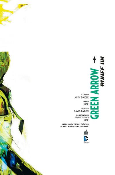 Page 3 Green Arrow - année un