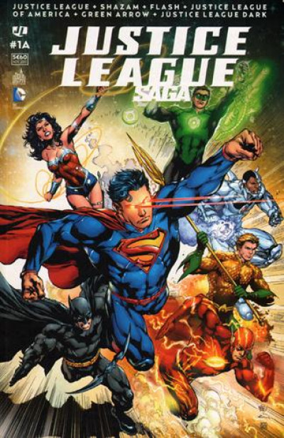 Couverture Justice league saga tome 1