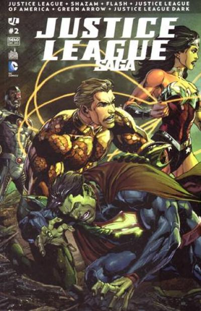 Couverture Justice league saga tome 2