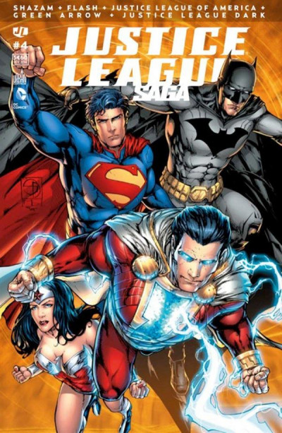 Couverture Justice league saga tome 4