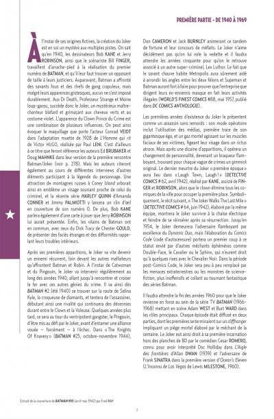 Page 7 Joker Anthologie - DC Anthologie