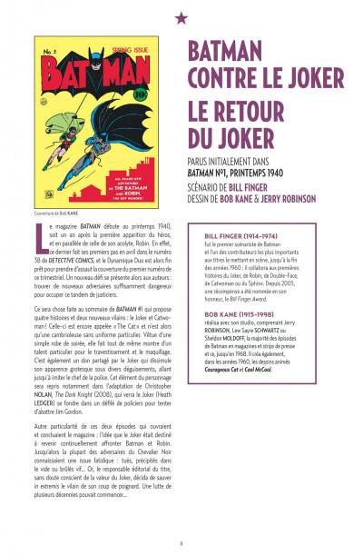 Page 8 Joker Anthologie - DC Anthologie