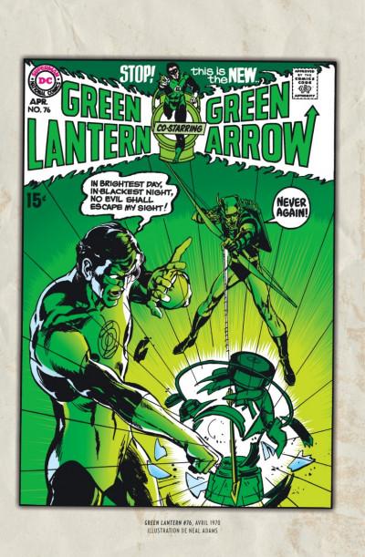 Page 0 Green Arrow & Green Lantern