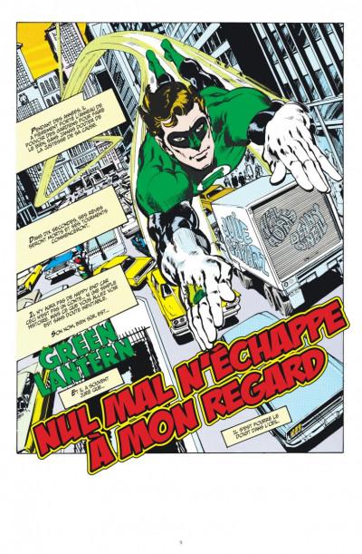 Page 1 Green Arrow & Green Lantern