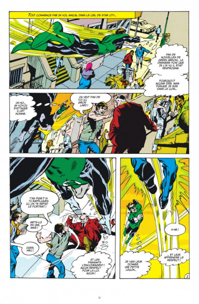 Page 2 Green Arrow & Green Lantern