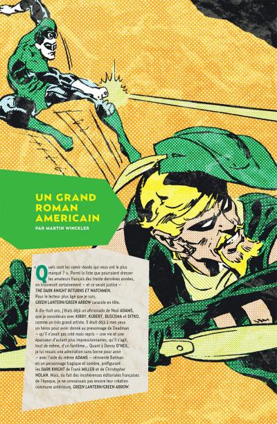 Page 4 Green Arrow & Green Lantern