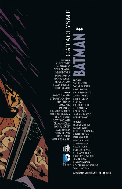 Page 3 Batman - Cataclysme