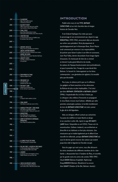 Page 4 Batman - Cataclysme
