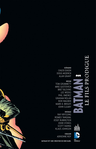 Page 3 Batman Le fils prodigue