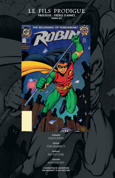 Page 8 Batman Le fils prodigue