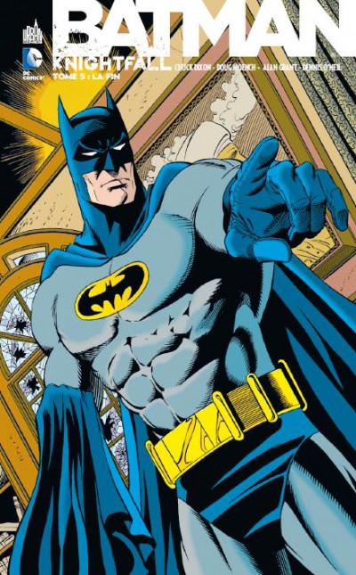 Couverture Batman knightfall tome 5