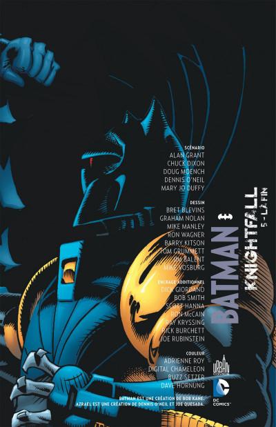 Page 3 Batman knightfall tome 5