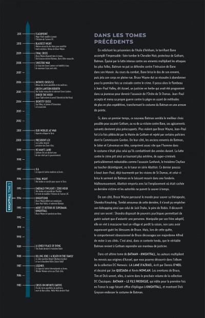 Page 4 Batman knightfall tome 5