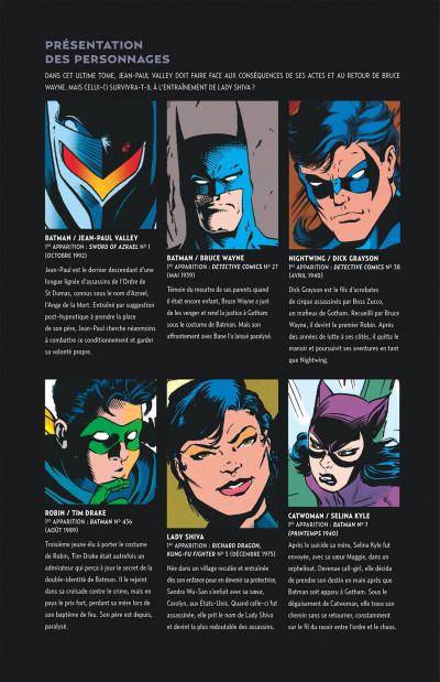 Page 5 Batman knightfall tome 5