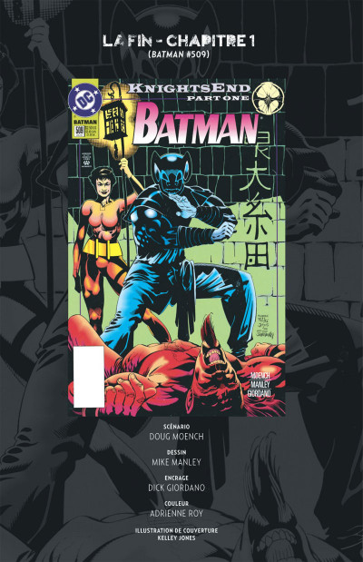 Page 6 Batman knightfall tome 5
