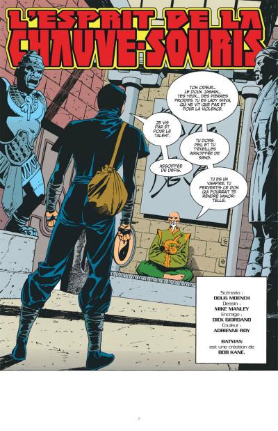 Page 7 Batman knightfall tome 5