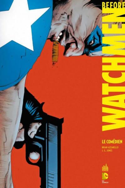 Couverture before watchmen  DC Deluxe - Comédien