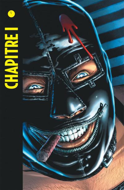 Page 6 before watchmen  DC Deluxe - Comédien