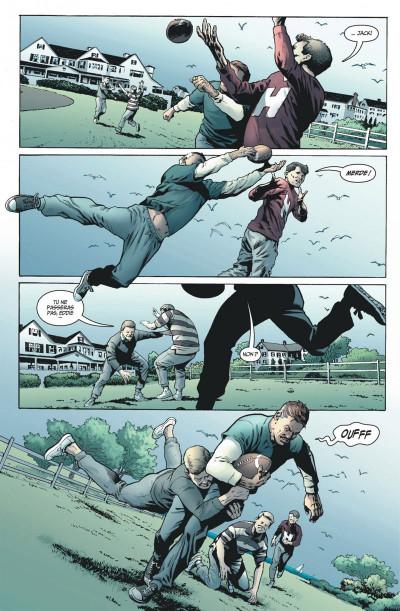 Page 8 before watchmen  DC Deluxe - Comédien