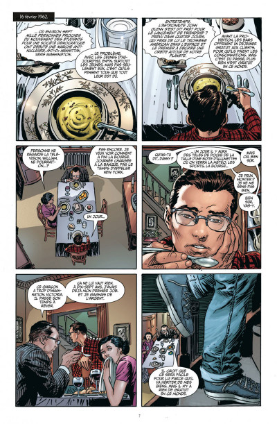 Page 7 before watchmen DC Deluxe - le Hibou