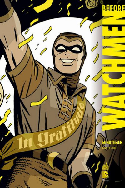 Couverture Before Watchmen Minutemen - DC Deluxe tome1