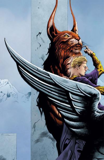 Page 2 before watchmen DC Deluxe - Ozymandias