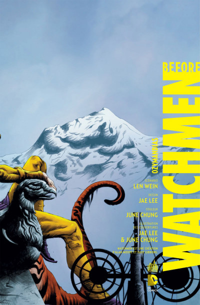 Page 3 before watchmen DC Deluxe - Ozymandias
