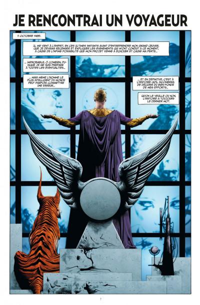 Page 7 before watchmen DC Deluxe - Ozymandias